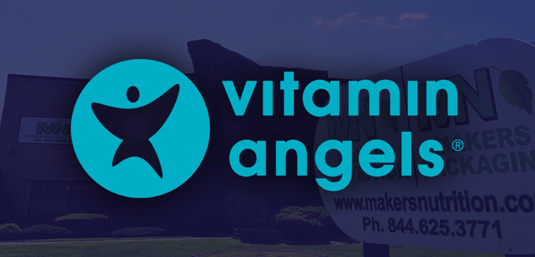 Casual for a Cause: Makers Nutrition Contributes to Vitamin Angels
