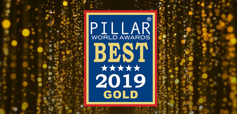 Makers Nutrition Strikes Gold in the 2019 Pillar® World Awards